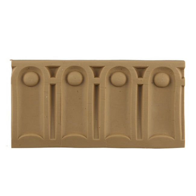"ColumnsDirect.com - 3-1/8""(H) x 3/8""(Relief) - Interior Linear Molding - Roman Fluted Design - [Compo Material]"