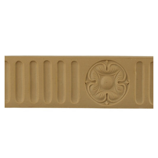 "ColumnsDirect.com - 2""(H) x 1/4""(Relief) - Fluted Linear Molding - Stain-Grade Colonial Design - [Compo Material]"