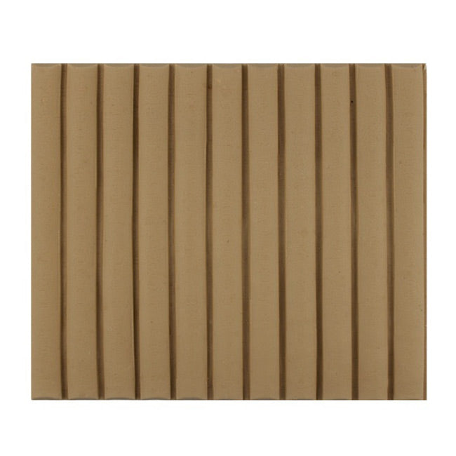 "ColumnsDirect.com - 5-7/8""(H) x 1/4""(Relief) - Colonial Reeded Linear Molding Design - [Compo Material]"