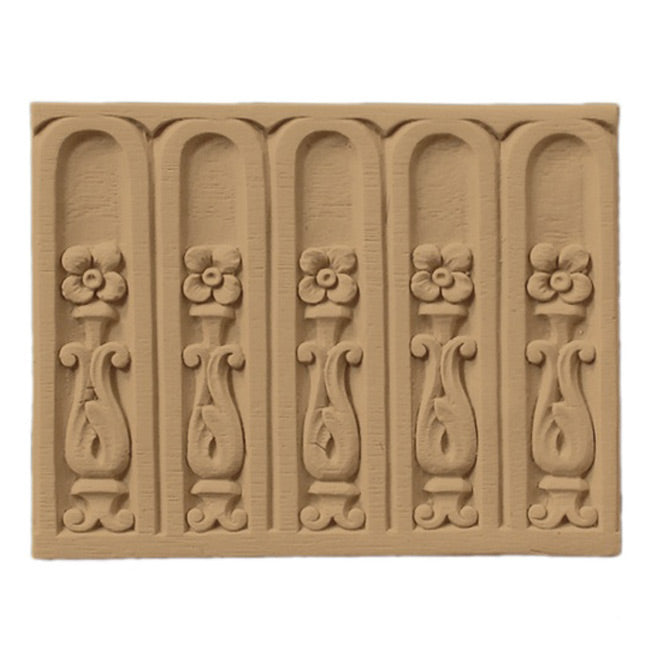 "ColumnsDirect.com - 4""(H) x 1/4""(Relief) - Fluted French Interior Linear Molding Design - [Compo Material]"