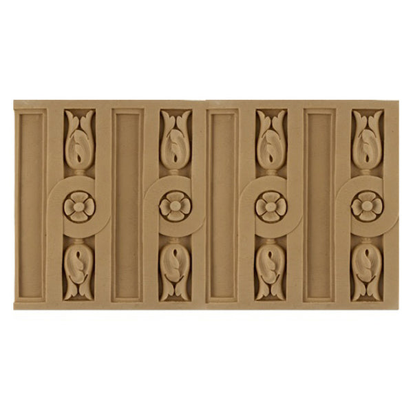 "ColumnsDirect.com - 6-3/8""(H) x 3/8""(Relief) - Fluted French Linear Molding Design - [Compo Material]"