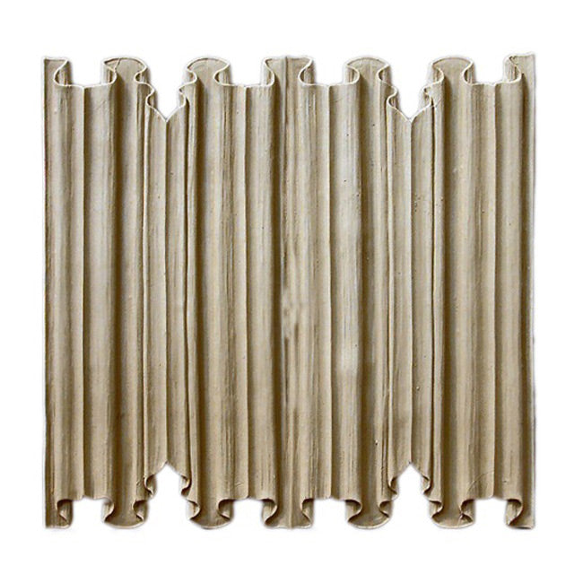 "ColumnsDirect.com - 11-5/8""(H) x 5/16""(Relief) - Gothic Linen Fold Linear Molding Design - [Compo Material]"