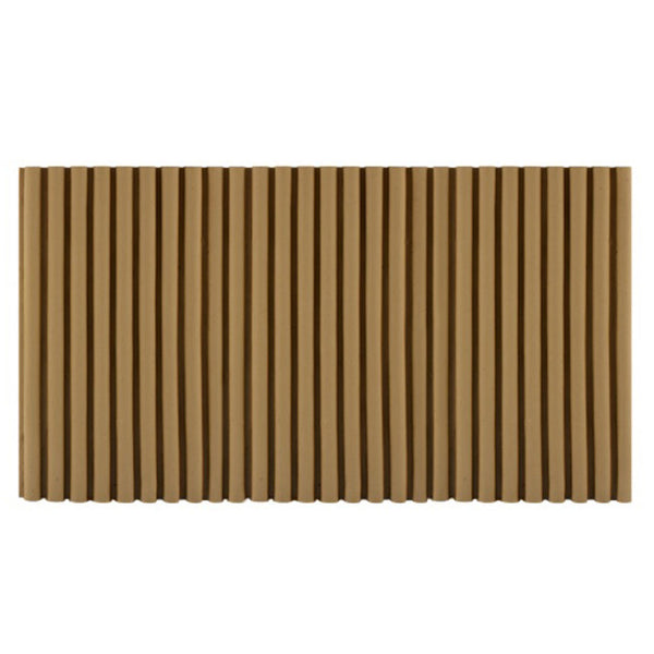 "ColumnsDirect.com - 7-5/8""(H) x 3/8""(Relief) - Colonial Reeded / Fluted Linear Molding Design - [Compo Material]"