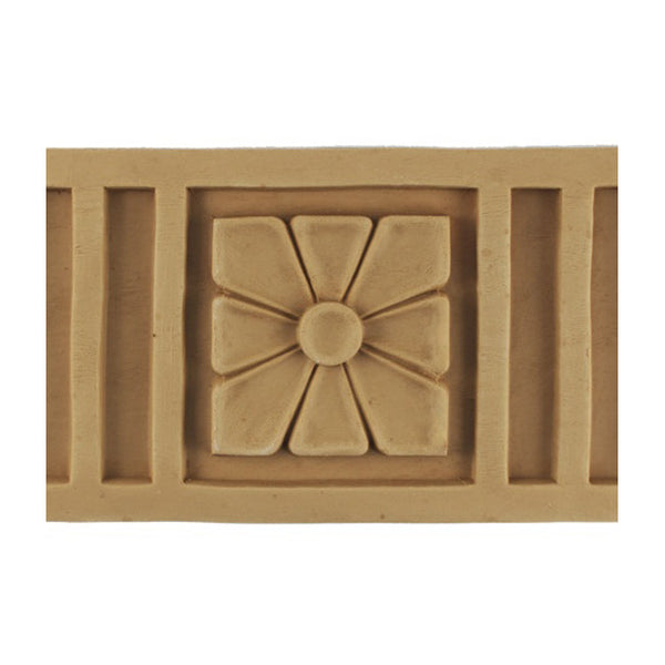 "ColumnsDirect.com - 4-3/4""(H) x 3/8""(Relief) - Stainable Linear Moulding - Italian Fluted Design - [Compo Material]"