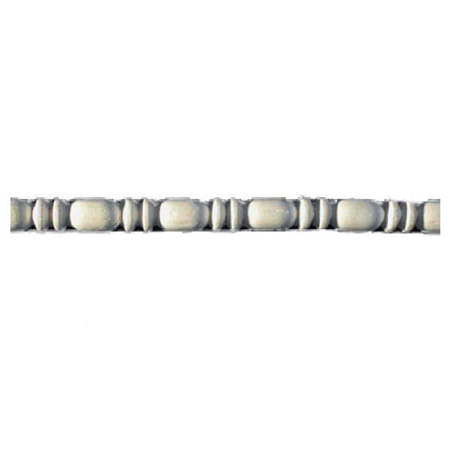 "9/16""(H) x 9/16""(Relief) - Bead & Barrel Panel Molding Design - [Plaster Material] - Brockwell Incorporated"