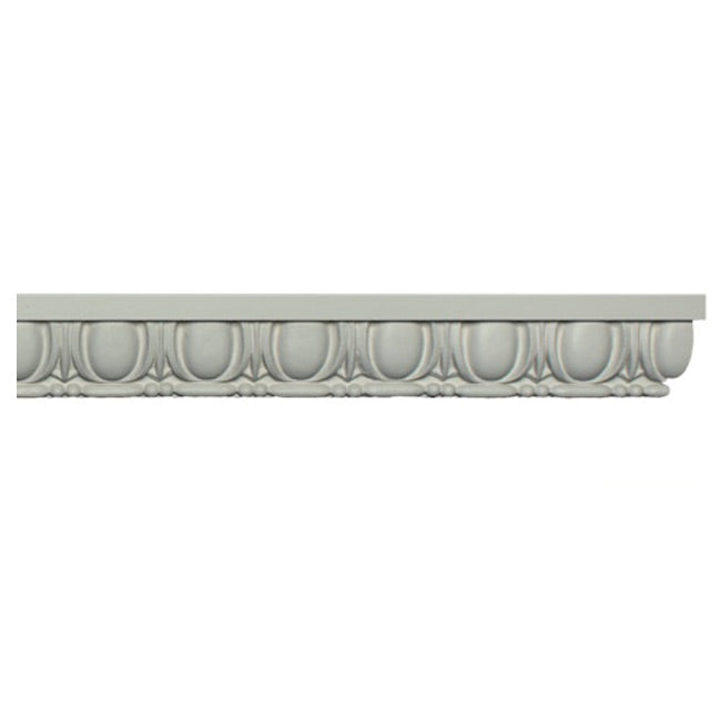 "2-1/4""(H) x 1-1/4""(Relief) - Roman Egg & Dart Panel Molding Design - [Plaster Material] - Brockwell Incorporated"