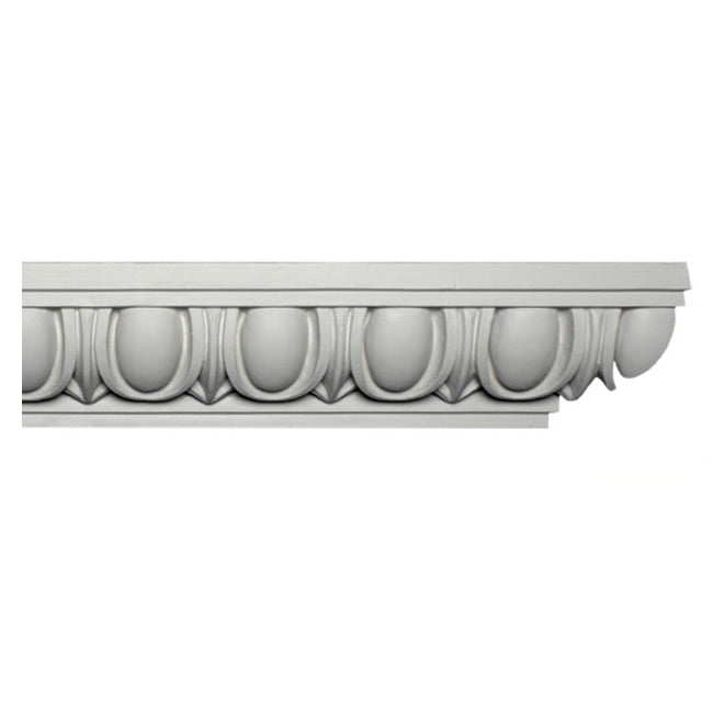 "4-1/2""(H) x 3-3/4""(Relief) - Roman Egg & Dart Panel Molding Design - [Plaster Material] - Brockwell Incorporated"