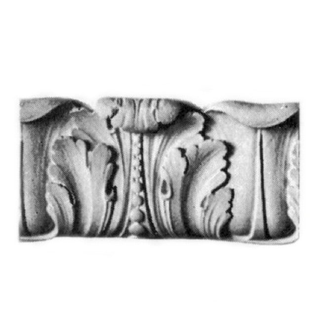 "7-1/4""(H) x 1-7/8""(Proj.) - French Renaissance Frieze Molding Design - [Plaster Material] - Brockwell Incorporated"