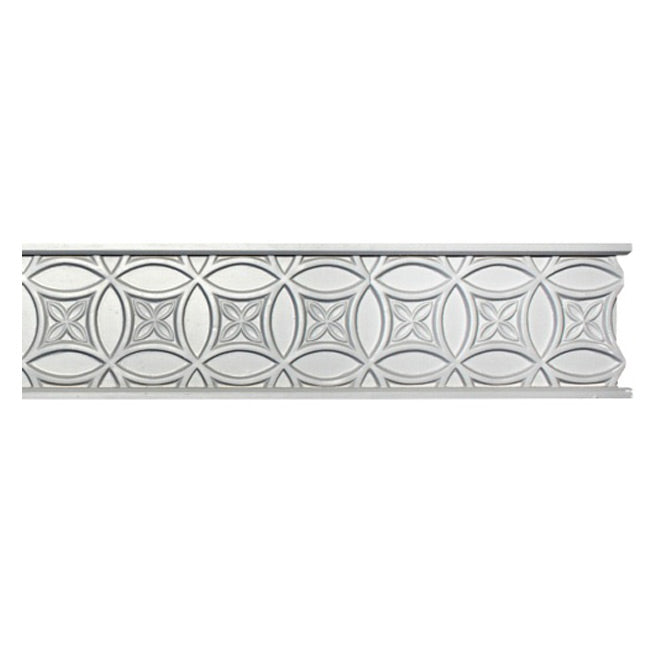 "4-3/4""(H) x 1/4""(Relief) - Moorish Frieze Molding Design - [Plaster Material] - Brockwell Incorporated"