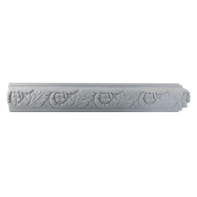 "3-1/4""(H) x 1""(Relief) - French Frieze Molding Design - [Plaster Material] - Brockwell Incorporated"