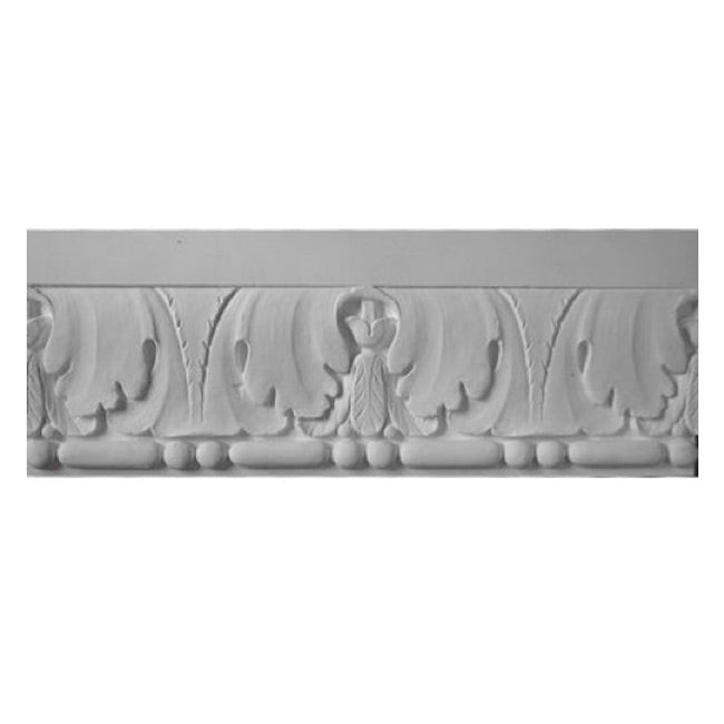 "9-1/4""(H) x 1-1/4""(Relief) - Italian Frieze Molding Design - [Plaster Material] - Brockwell Incorporated"