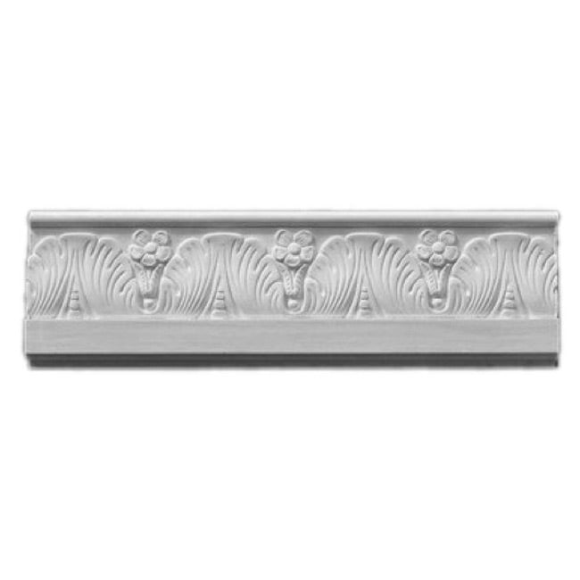 "4""(H) x 7/8""(Proj.) - Renaissance Frieze Molding Design - [Plaster Material] - Brockwell Incorporated"