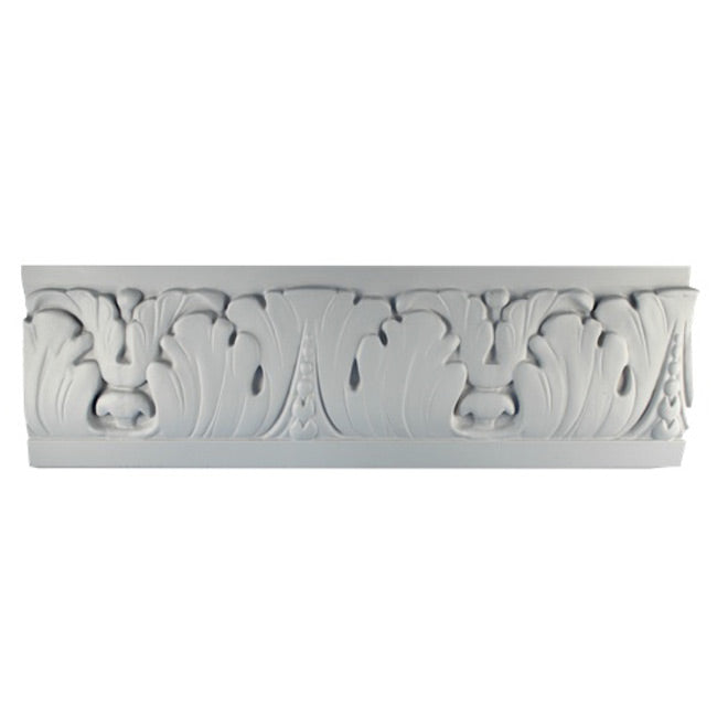 "7""(H) x 7/8""(Relief) - Italian Frieze Molding Design - [Plaster Material] - Brockwell Incorporated"