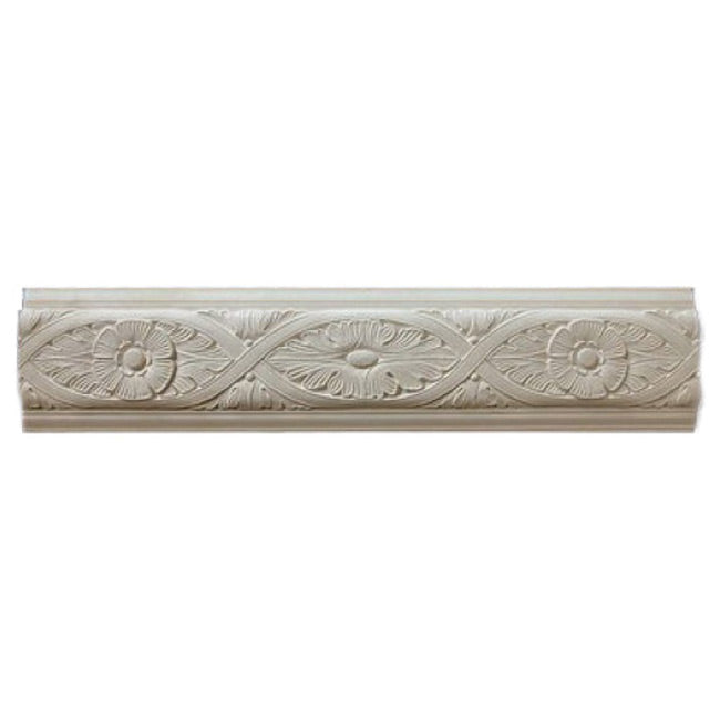"9""(H) x 1""(Relief) - Repeat: 26-3/4"" - Italian Frieze Molding Design - [Plaster Material] - Brockwell Incorporated"