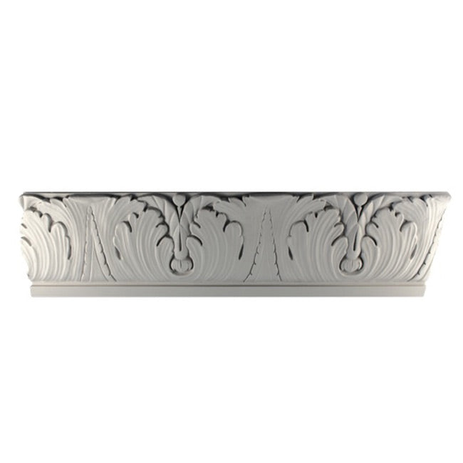 "6""(H) x 7/8""(Relief) - Italian Style Frieze Molding Design - [Plaster Material] - Brockwell Incorporated"