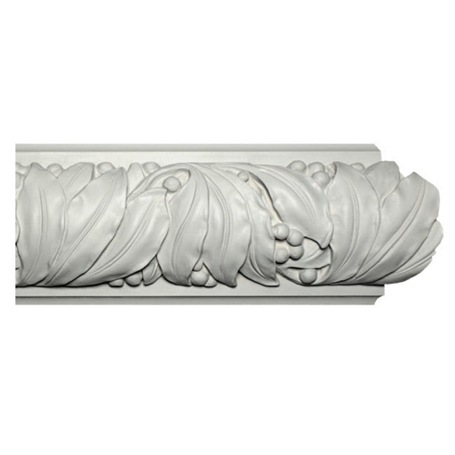 "6""(H) x 3""(Relief) - Art Nouveau Molding Design - [Plaster Material] - Brockwell Incorporated"