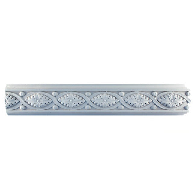 "3""(H) x 3/4""(Proj.) - Empire Style Frieze Molding Design - [Plaster Material] - Brockwell Incorporated"