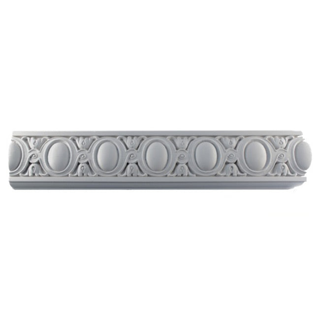 "4""(H) x 1""(Relief) - Louis XIV Frieze Molding Design - [Plaster Material] - Brockwell Incorporated"