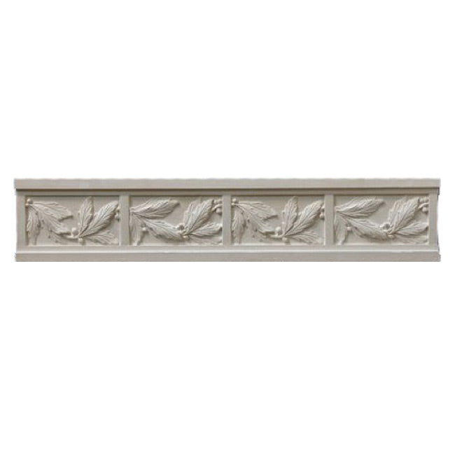 "5""(H) x 7/8""(Relief) - Modern Frieze Molding Design - [Plaster Material] - Brockwell Incorporated"