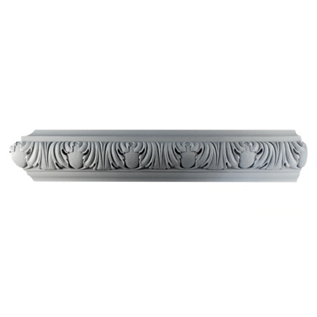 "4""(H) x 1-3/4""(Relief) - Italian Renaissance Frieze Molding Design - [Plaster Material] - Brockwell Incorporated"