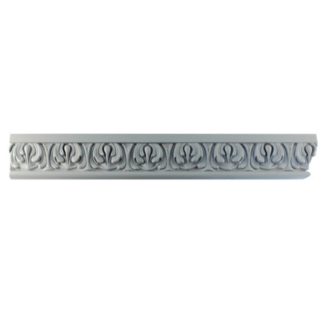 "3""(H) x 1""(Relief) - Italian Style Frieze Molding Design - [Plaster Material] - Brockwell Incorporated"