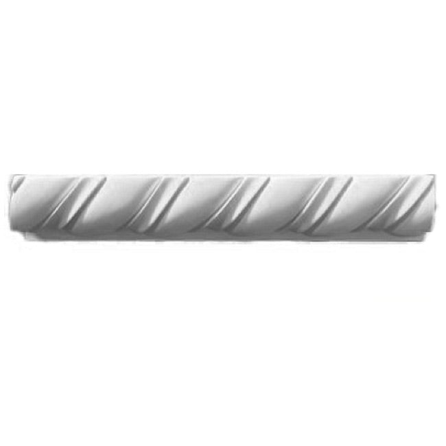 "2-3/4""(H) x 3""(Proj.) - Spanish Rope Panel Molding Design - [Plaster Material] - Brockwell Incorporated"