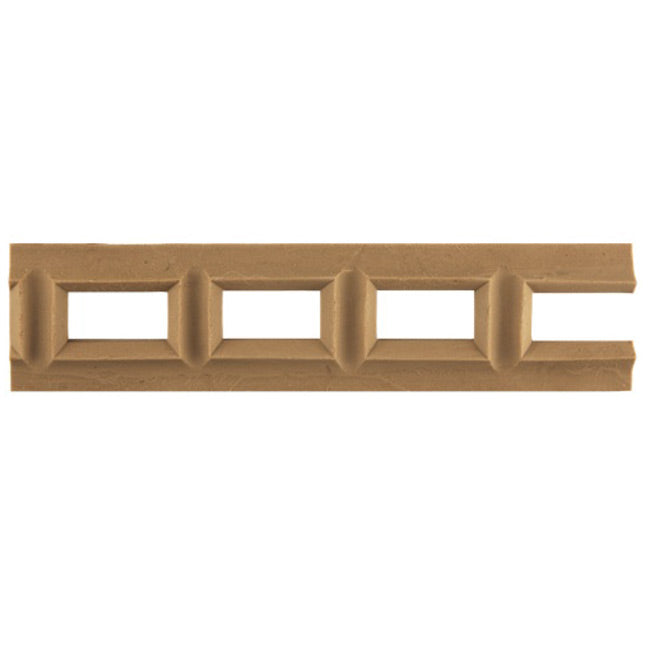 "2""(H) x 1/4""(Relief) - Interior Linear Moulding - Classic Geometric Design - [Compo Material] - Brockwell Incorporated"