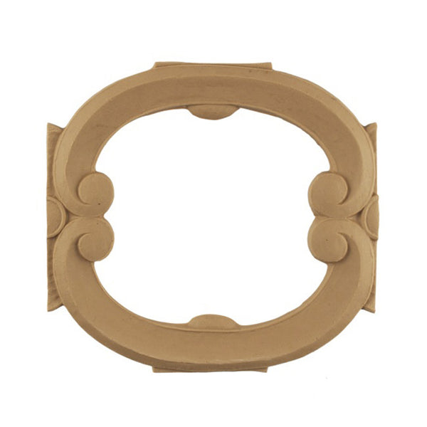 "6-1/4""(H) x 3/8""(Relief) - Stainable Linear Molding - Italian Geometric Design - [Compo Material] - Brockwell Incorporated"