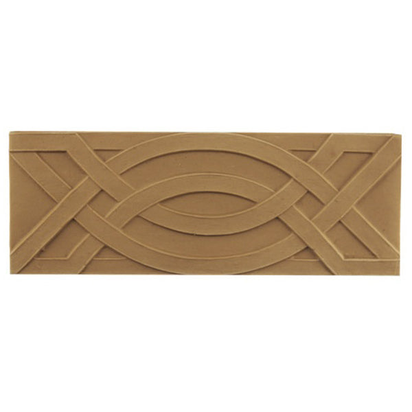 "3-1/4""(H) - Stainable Linear Molding - Etruscan Style Geometric Design - [Compo Material] - Brockwell Incorporated"