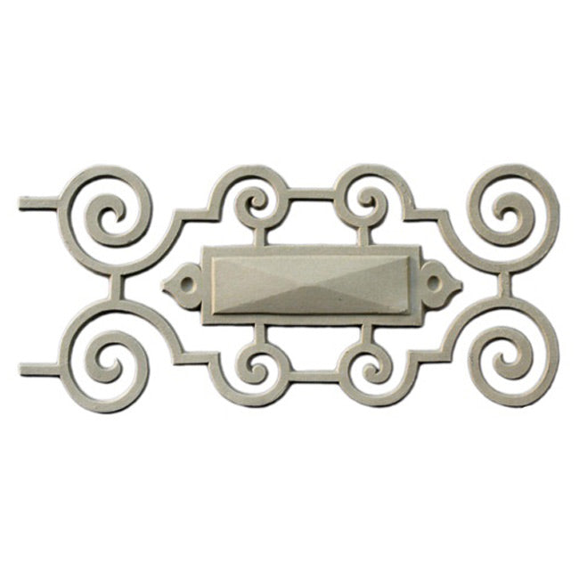 "5-1/4""(H) x 3/8""(Relief) - Linear Moulding - Elizabethan Geometric Design - [Compo Material] - Brockwell Incorporated"