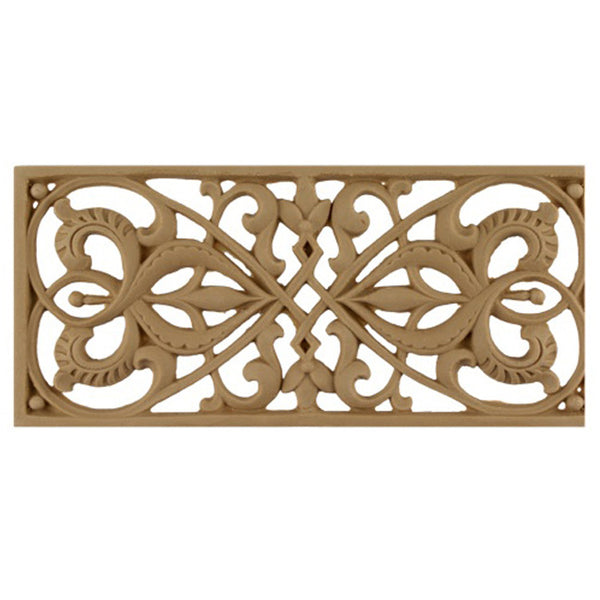 "3-3/8""(H) x 3/16""(Relief) - Linear Moulding - Moorish Geometric Design - [Compo Material] - Brockwell Incorporated"