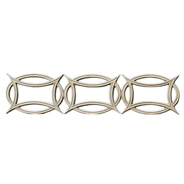"3""(H) x 1/8""(Relief) - Linear Moulding - Celtic Geometric Design - [Compo Material] - Brockwell Incorporated"