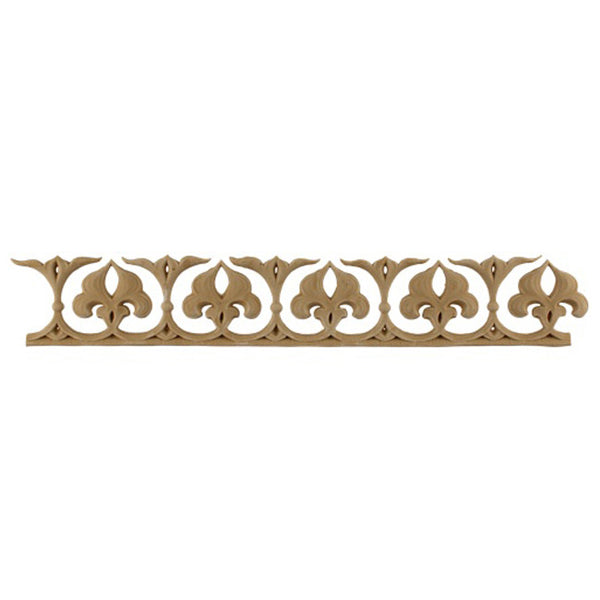 "2-3/8""(H) x 1/4""(Relief) - Linear Moulding - Arabian Geometric Design - [Compo Material] - Brockwell Incorporated"