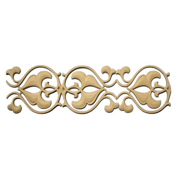"4-1/4""(H) x 1/4""(Relief) - Linear Moulding - Arabian Geometric Design - [Compo Material] - Brockwell Incorporated"