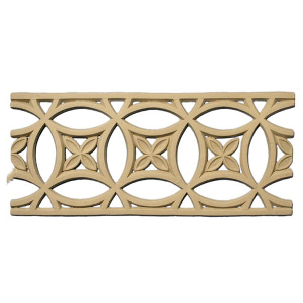 "4-7/8""(H) x 3/16""(Relief) - Linear Moulding - Moorish Geometric Design - [Compo Material] - Brockwell Incorporated"