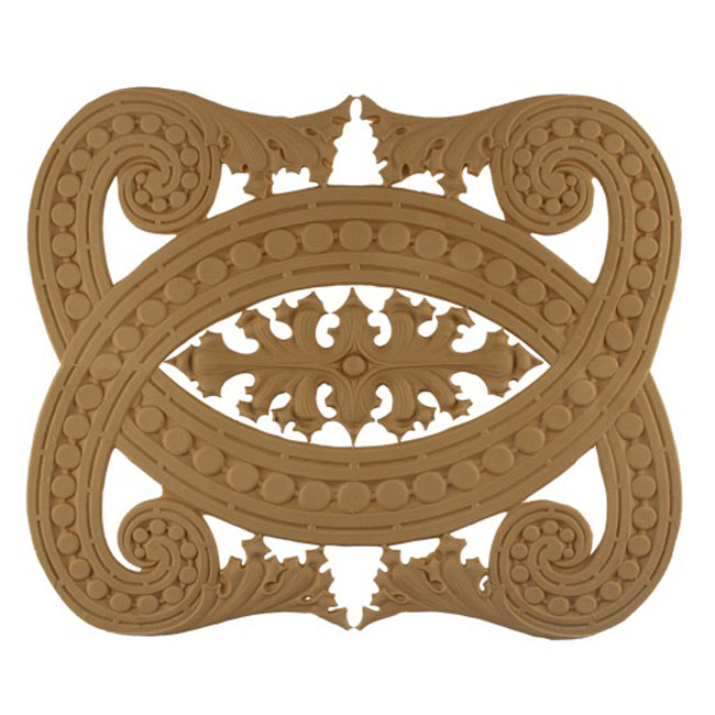 "11-1/4""(H) x 1/8""(Relief) - Linear Moulding - Sullivan Style Geometric Design - [Compo Material] - Brockwell Incorporated"