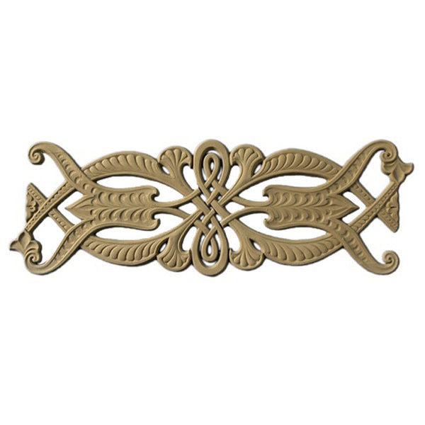 "5-5/8""(H) x 3/16""(Relief) - Repeat: 15"" - Linear Moulding - Arabian Geometric Design - [Compo Material] - Brockwell Incorporated"