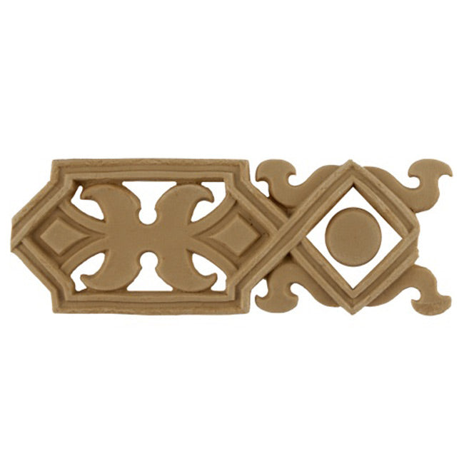 "2""(H) x 3/16""(Relief) - Modern Style Geometric Linear Molding Design - [Compo Material] - Brockwell Incorporated"