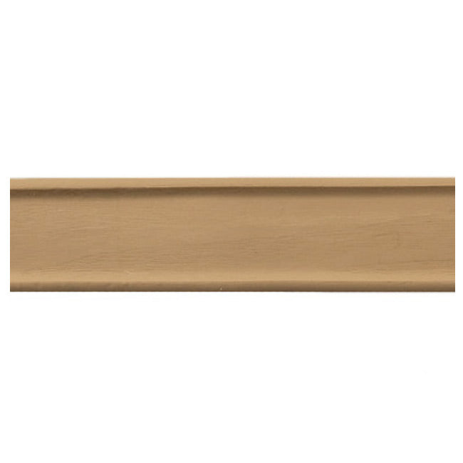 "2""(H) x 1/4""(Relief) - French Smooth Geometric Linear Molding Design - [Compo Material] - Brockwell Incorporated"