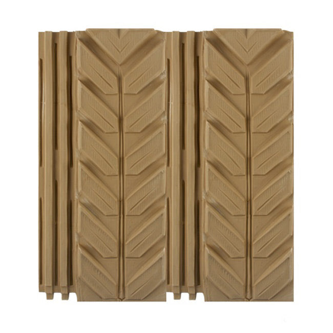 "12-7/8""(H) x 1""(Relief) - Chevron Geometric Linear Molding Design - [Compo Material] - Brockwell Incorporated"