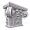 Plaster Gothic Notre Dame Pilaster Capital Design from Brockwell Columns