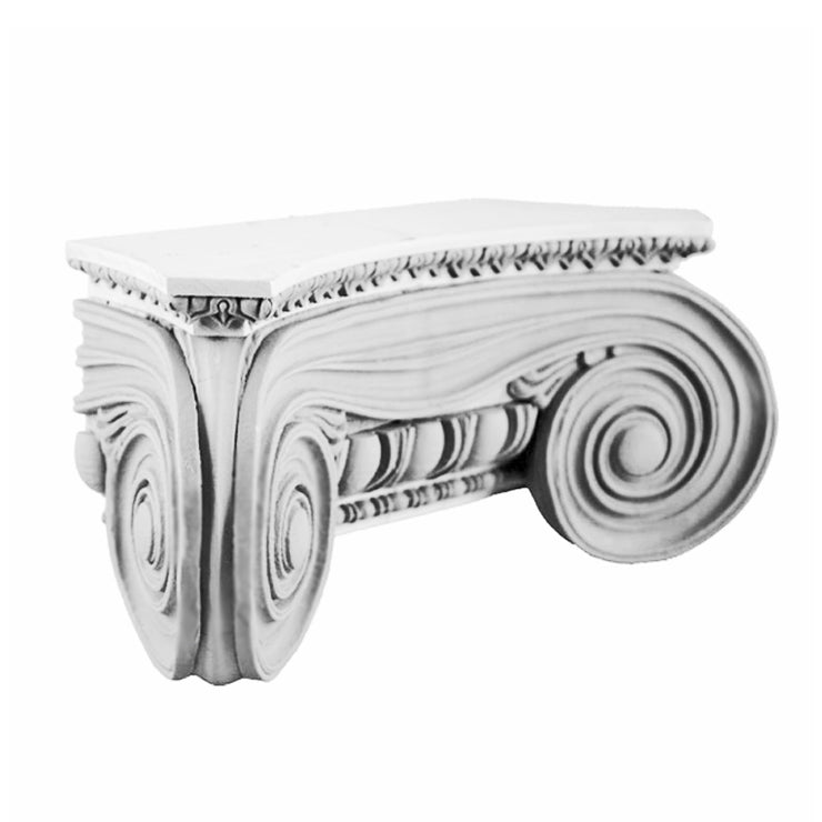 Ionic Order (Greek Angular) - Minerva Polias - PILASTER CAP - [Plaster Material] - Brockwell Incorporated