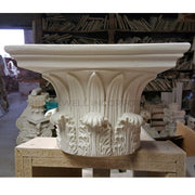 "Corinthian Order (Greek) - ""Tower of the Winds"" - ROUND Column Capital - [Plaster Material] - Brockwell Incorporated"