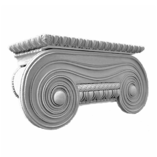 Ionic Order (Greek) - Erechtheum - PILASTER CAP - [Plaster Material] - Brockwell Incorporated