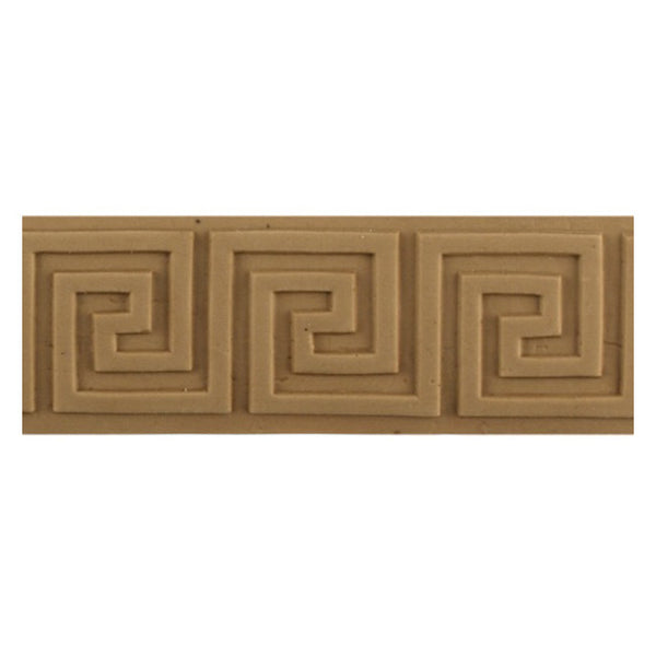"Where to Buy 1-3/8""(H) x 1/8""(Relief) - Greek Key Style Linear Molding Design - [Compo Material]"