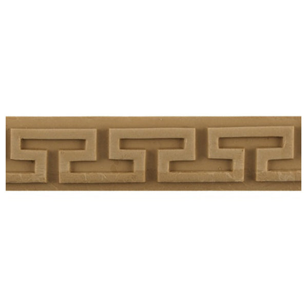 "Where to Buy 1-1/4""(H) x 3/16""(Relief) - Greek Key Style Linear Molding Design - [Compo Material]"