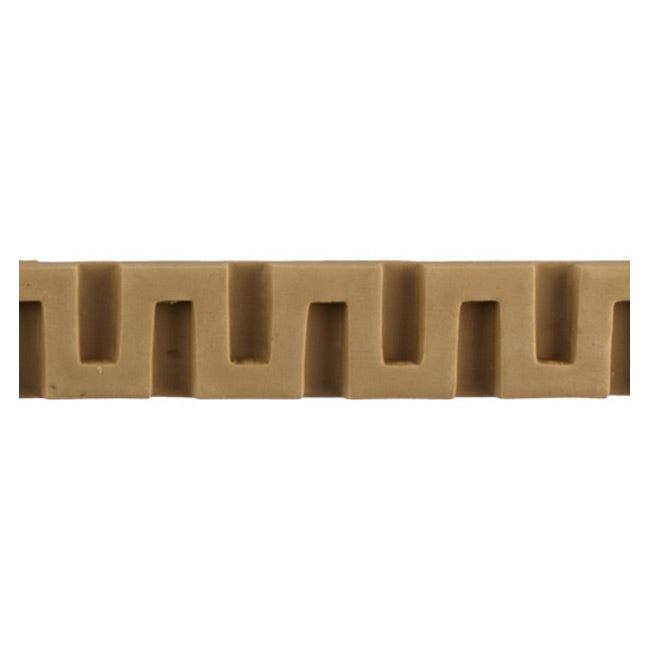 "Where to Buy 1-1/8""(H) x 5/16""(Relief) - Greek Key Style Linear Molding Design - [Compo Material]"