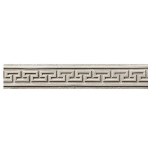 "Where to Buy 2""(H) x 3/16""(Relief) - Greek Key Interior Linear Molding Design - [Compo Material]"