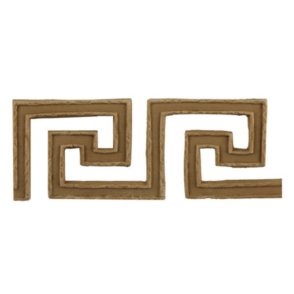 "Where to Buy 1-11/16""(H) x 3/16""(Relief) - Stain-Grade Greek Key Linear Molding Design - [Compo Material]"