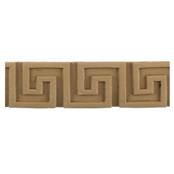 "Where to Buy 1-13/16""(H) x 1/8""(Relief) - Greek Key Linear Molding Design - [Compo Material]"